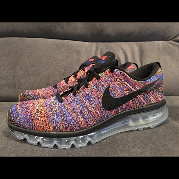 outlet store c3ea4 ec96d Nike FlyKnit Max Mens Running Cross Tran size 12.5 NWT
